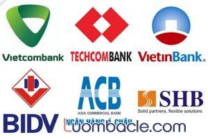 Danh sách các ngân hàng lớn, uy tín, được tin dùng nhiều tại Việt Nam