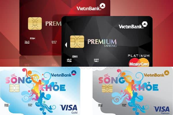 Các loại thẻ ghi nợ quốc tế của VietinBank